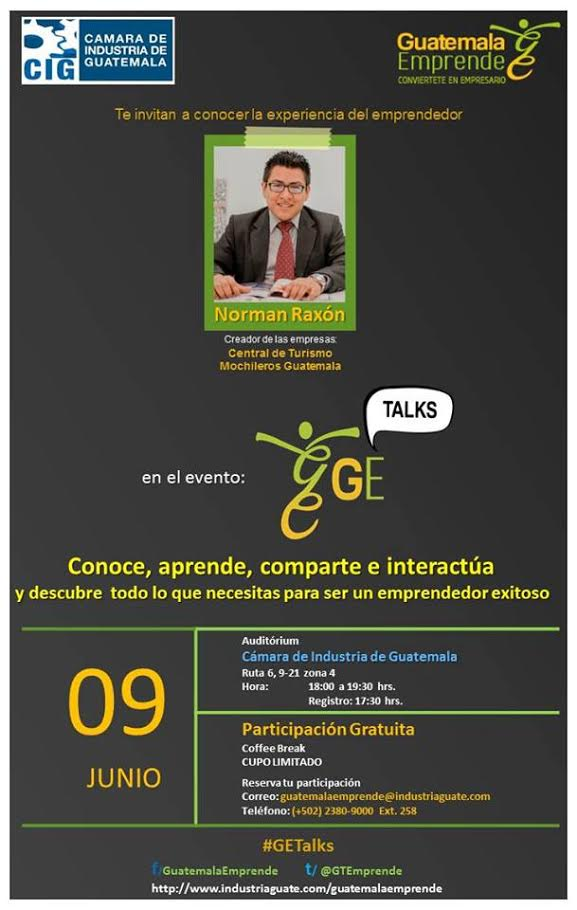 Guatemprende evento